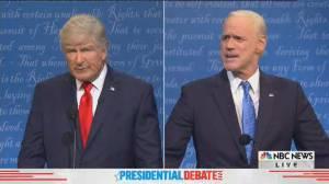 SNL cold open spoofs final U.S. presidential debate between Trump, Biden (11:20)