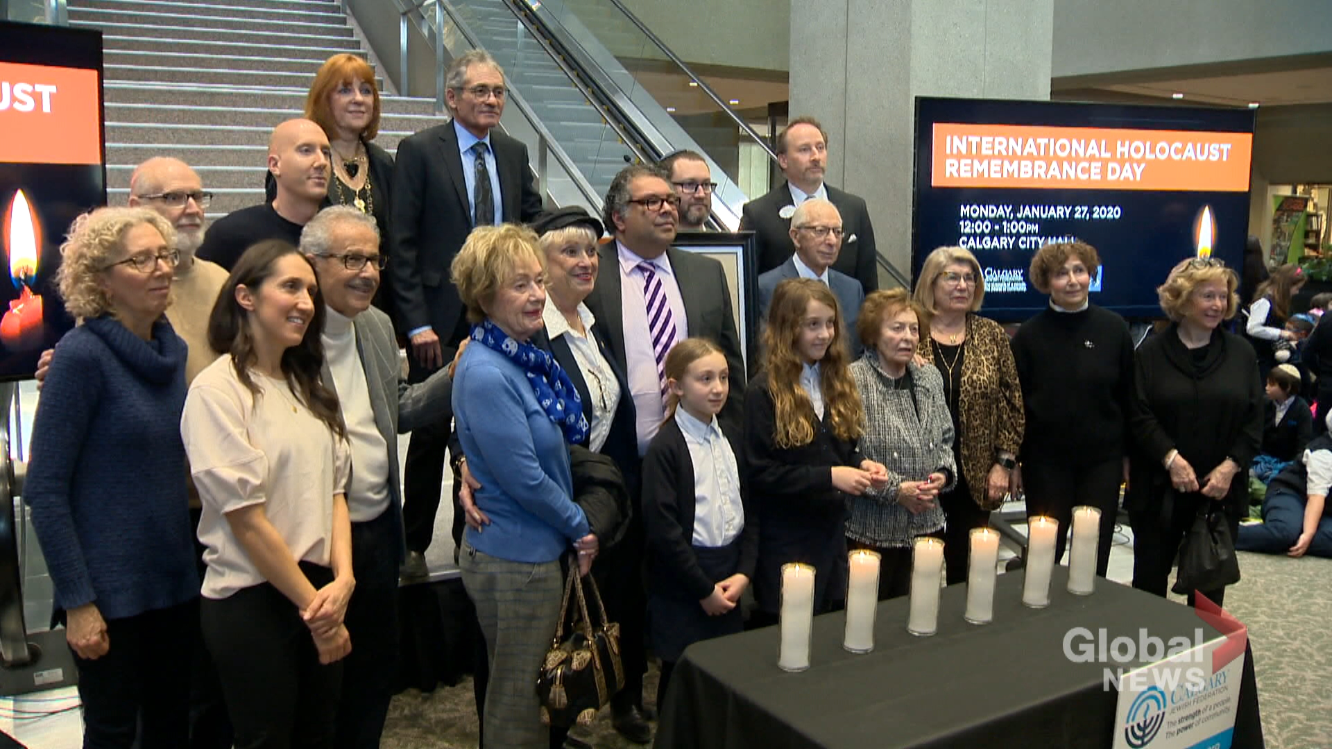 City of Calgary marks first official International Holocaust Remembrance Day