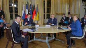 Ukraine, Russia, France and Germany's leaders hold summit aimed at alleviating Ukrainian conflict