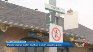 Man charged with 2nd-degree murder in death of Guelph security guard
