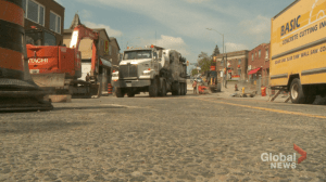 Uxbridge construction causes added stress for business owners
