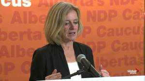 Notley asks Albertans to call out government on Bill 22