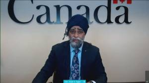 Sajjan announces launch of independent external review of sexual misconduct in military (02:21)