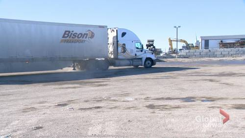 Sask. Trucking Assoc. hoping to bust stereotypes, labour shortage with campaign | Watch News Videos Online