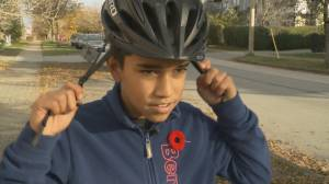 Caught on video: hit-and-run of young cyclist