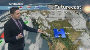 Kelowna Weather Forecast: April 14 (03:21)