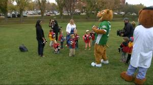 Scoring a Touchdown for Kids with millionaire lottery