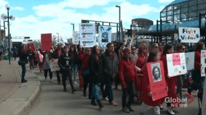 Honouring MMIWG on Red Dress Day (03:55)