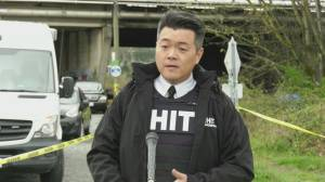 Abbotsford police identify man stabbed to death at homeless camp (01:03)
