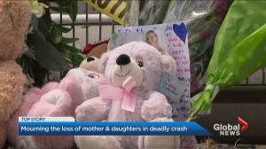 Mother, children who died in Brampton crash identified (03:43)