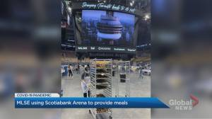 Idle Scotiabank Arena being used to make meals during coronavirus pandemic
