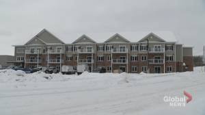 Federal government funds 27 rental units on Whitefield Drive in Peterborough (01:19)