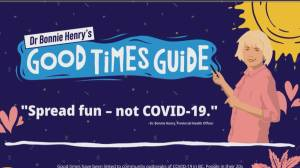 Province releases new 'good time guide' ahead of B.C. Day Long Weekend.