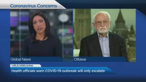 Health officials warn COVID-19 outbreak will only escalate (04:52)