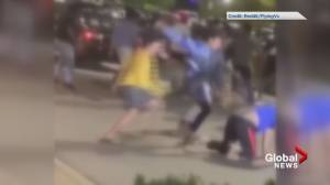 Three people deported after Surrey brawl caught on video