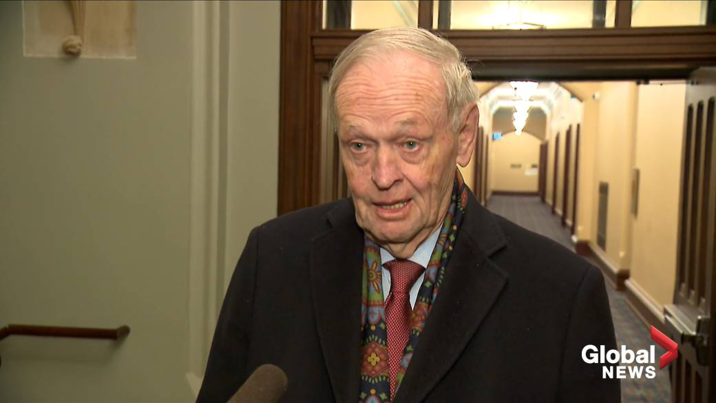 Chretien says Trudeau is 'prime minister for all Canadians' in face of western alienation