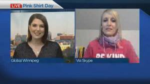 Marking Pink Shirt Day in Winnipeg (04:46)