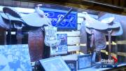 Play video: Concerns raised over future of rodeo memorabilia left inside Calgary's Ranchman's dance hall