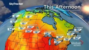 Winnipeg weather outlook: Oct. 1 (01:31)