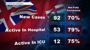 Manitoba's COVID-19/vaccine numbers – October 15 (00:44)