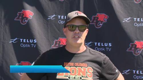 BC Lions Q.B. Michael Reilly's dealing with arm pain | Watch News Videos Online