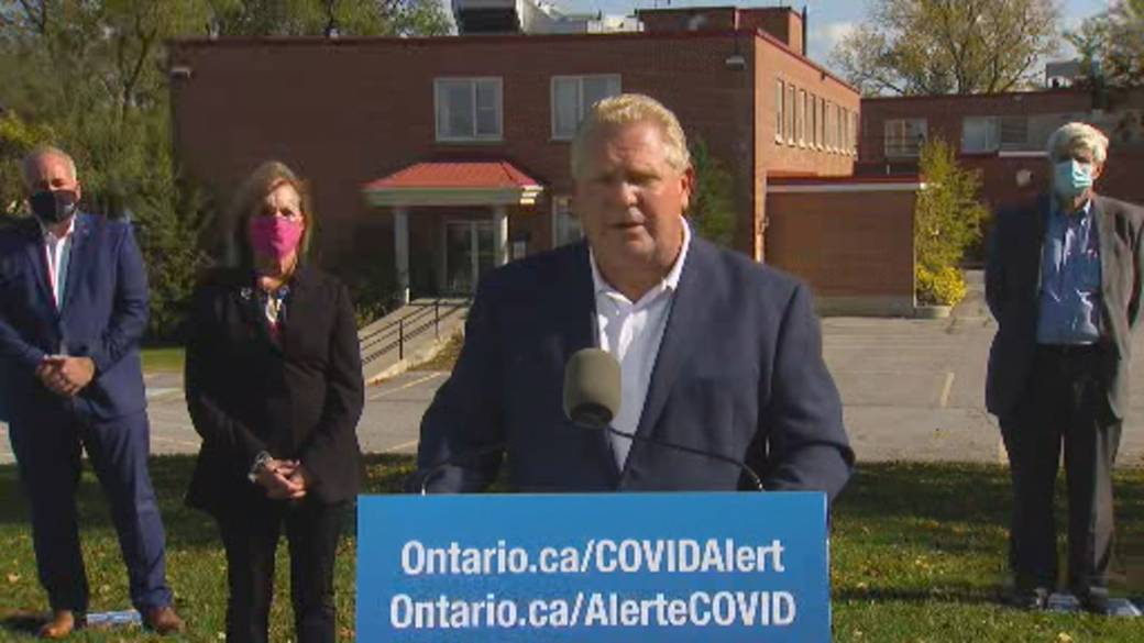 Click to play video: 'Coronavirus: Ford calls for more funding from Ottawa to assist in long-term care improvements'