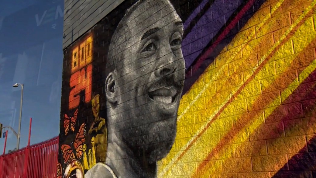 Click to play video 'Reflecting on the death of NBA legend Kobe Bryant, one year later'