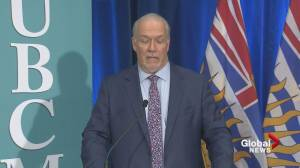 'We stand ready to assist': B.C. premier on providing COVID-19 support for Alberta (02:29)
