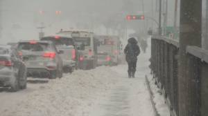 Winter storm slams into Montreal