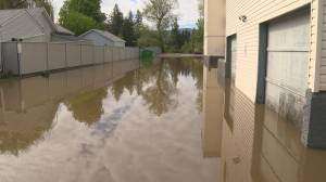 First spring flood in Kelowna closes golf course and damages commercial business