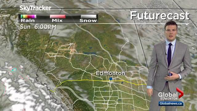 Edmonton weather forecast: Oct. 18
