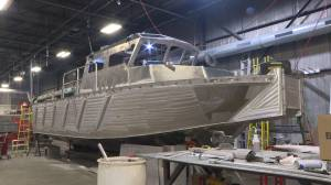 Another hefty contract for Kingston's Metalcraft Marine (01:48)