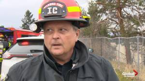 Extended interview with fire department of Kelowna fourplex blaze