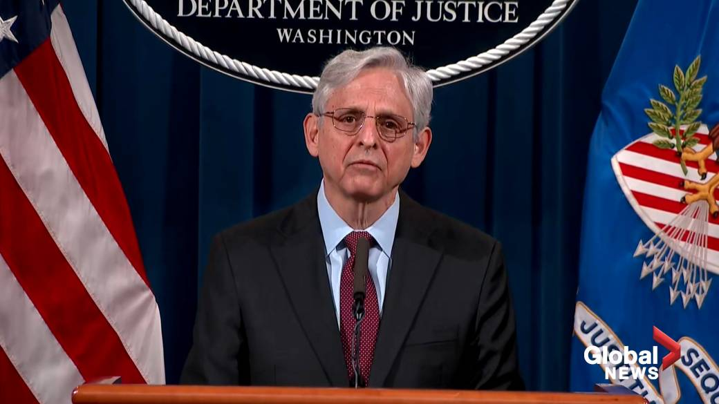 Click to play video: 'Derek Chauvin guilty: AG Garland announces civil investigation into Minneapolis Police Department'