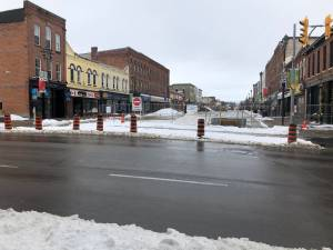 Major reconstruction project underway in downtown Lindsay