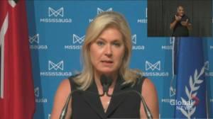 Mississauga mass COVID-19 immunization clinic to close late July (01:31)