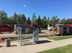 Apartment fire in south Edmonton sends 3 to hospital