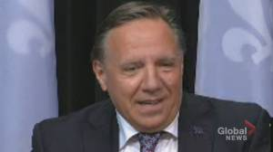 Legault calls on Manitoba premier to make good on bet after Canadiens' Series 2 win over Jets (00:38)