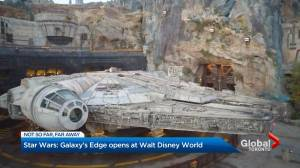 Star Wars: Galaxy's Edge opens at Walt Disney World Resort in Orlando