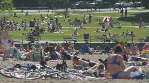 Weekend warm weather leading to pandemic concerns
