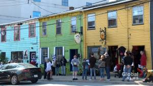 Halifax rally held calling for historic buildings to be saved from demolition