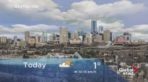 Edmonton early morning weather forecast: Monday, February 10, 2020