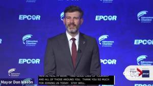 Edmonton Mayor Don Iveson gives his final state of city address (02:10)