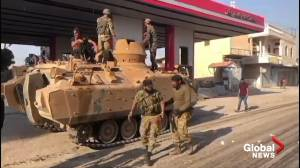 Turkey-backed rebels patrol streets after capturing Tel Abyad