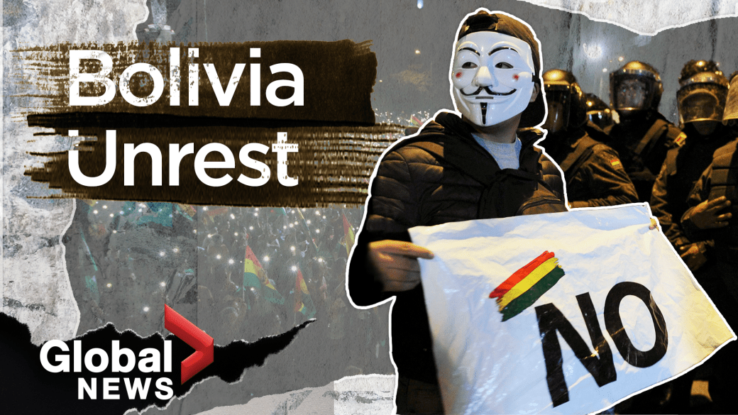Protests, clashes ignite after Bolivia's opposition leader declares herself president