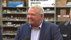 Federal Election 2019: Doug Ford jokes he thinks Trudeau 'loves me' based on number of mentions on campaign