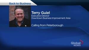 Getting back to business in Peterborough