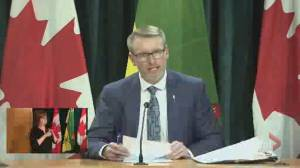 Saskatchewan pharmacies to begin offering COVID-19 vaccine appointments: minister (00:35)