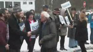 New Hampshire Democrats vote in primary