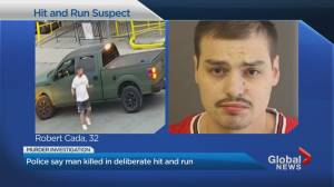 Police say man killed in deliberate hit-and-run in Toronto's Port Lands (01:47)